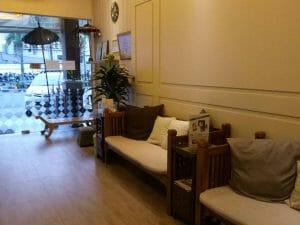 Reborn Batam Massage Reflexology Sitting Area