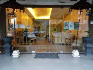 Reborn Batam Massage Reflexology Entrance