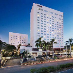 batam allium hotel blog review facade