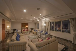 batam allium hotel blog review samali suite living room