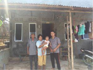 Volunteer Overseas in Indonesia Batam - Batam Build - After Building - Mr Bahtarim Home After Batam Build