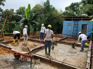 Volunteer Overseas in Indonesia Batam - Batam Build - After Building Working Site-min