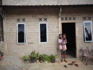 Volunteer Overseas in Indonesia Batam - Batam Build - House After Building-min