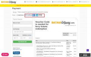BatamGetaway Booking Step 5